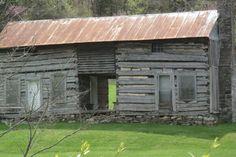 East Tn log home