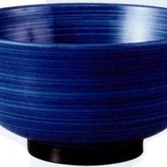 PBT 17cm Fukuroku Bowl Blue