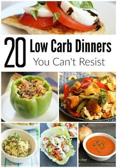 20 Low-Carb Dinners You Can't Resist - Words