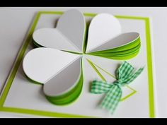 How to Make - Easy Greeting Card Mother's Day Birthday - Step by Step | Kartka Na Dzień Matki - YouTube