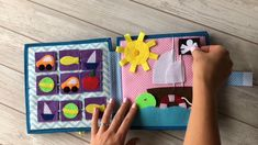 videos Quiet Book for boys, Busy book, handmade activity book Diy Quiet Books, Baby Quiet Book, Felt Quiet Books, Fun Activities For Toddlers, Book Activities, Indoor Activities, Summer Activities, Quilt Book, Diy Bebe