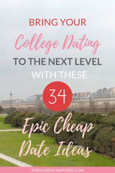 Discover 34 college date ideas to use this year. Features fun, cheap, and romantic activities you can use anytime of the year! These date night ideas range from dinner at home to fun and cheap adventures on the town. Great for couples on Valentines Day or students looking for a fun summer date with their friends. Read now to discover your next date night idea! #dating #datingtips #datenight #datenightideas