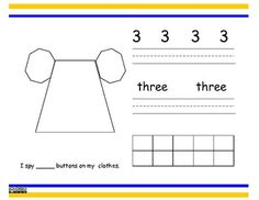 Numbers Book 1-10 - Math CCSS Numbers & Operations