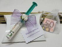 Geschenkbox/Geldgeschenk **Finanzspritze**