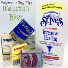 Claying can be rough on your hands; using lotion with polymer clay will help to save your hands, keep them soft, and has a huge amount of other benefits.