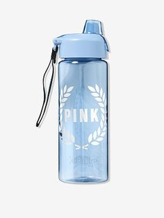 From backpacks to slides and more, shop all of our Accessories. Only at PINK. Pink Water Bottle, Drinking Water Bottle, Cute Water Bottles, Best Water Bottle, Water Bottle Design, Plastic Bottles, Drink Bottles, Starbucks Water Bottle, Bottle Bottle