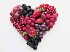 A berry beautiful heart - Happy Valentine's Day! 6 berries you should be eating for heart health Jessica Smith, Think Food, Shape Magazine, Time Magazine, Cleanse Recipes, Smoothie Recipes, Blender Recipes, Heart Healthy Recipes, Healthy Heart