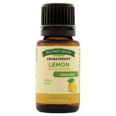 Nature's Truth Aromatherapy Lemon Essential Oil - 15 mL