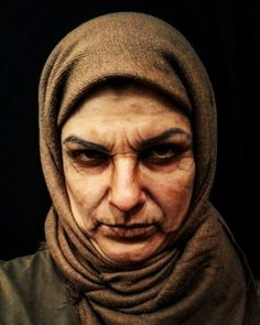 Oldage makeup by me