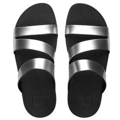 a76bb4bc8 Fitflop Womens SuperjellyTM Twist Rubber Flip Flops Silver Mirror     Visit  the image link more details.