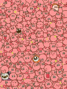SO MANY KIRBYYYYYS!!!