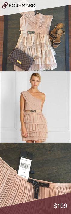 00158c8b55 New BCBG MAX AZRIA dress One strap nude BCBG max AZRIA dress size Small  BCBGMaxAzria Dresses