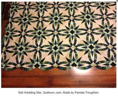 A Judy Niemeyer Pattern - Made by Pamela Troughton - so Beautiful.