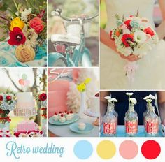 10 ideas para una boda de inspiración retro