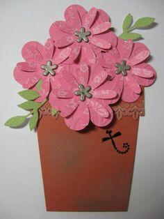 Mine :)  FlowerPot Card...flowers lift out