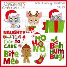 Bah Humbug Christmas Clipart Christmas Clipart Christmas
