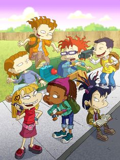 All Grown Up, the sequel to Rugrats. both an all time favorite of mine Nickelodeon Cartoons, Rugrats Cartoon, Cartoon Tv, Cartoon Shows, Cartoon Characters, Cartoon People, Angelica Rugrats, Rugrats All Grown Up, Nostalgia