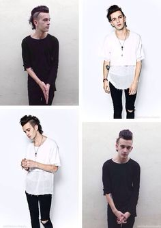 my boo - I'd give almost anything to meet him, in general//see them in concert again #the1975