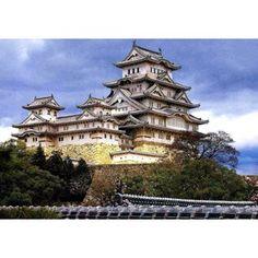フジミ模型 1/300 大姫路城 Japanese Castle, Samurai, Japanese Landscape, Mansions, Architecture, House Styles, Castles, Beautiful Things, Anime