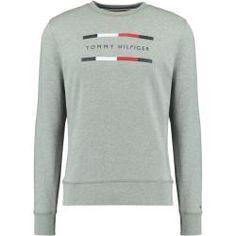 Alpha Industries Herren Langarmshirt Basic Small Logo Pullover Sweater