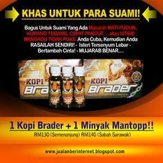 E-Flyers2u.BlogSpot.Com: E-flyers : Kopi Brader + Minyak Mantopp