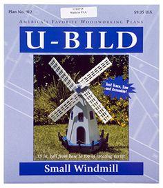 Dutch Windmill Plan - Woodworking