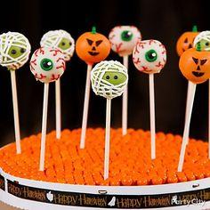 Creepy Cake Pops