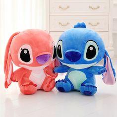 Kawaii Stitch Plush Doll Toys Anime Lilo and Stitch Stich Plush Toys for Children Kids Birthday Gift Lilo And Stitch Toys, Lilo Y Stitch, Stitch Doll, Cute Stitch, Stitch Cartoon, Plush Dolls, Doll Toys, Peluche Stitch, Giant Stitch