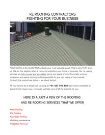Roofing industries biggest secret - how you can find the best roofing contractor.