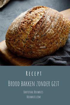 Wist je al dat je brood kunt bakken zonder gist? Er zijn verschillende manieren om dit te doen en het brood smaakt net zo lekker als dat je hem met gist maakt! Ben je benieuwd naar hoe je zelf een brood zonder gist kunt bakken? Bekijk dan ons recept Brood bakken zonder gist op Bouwhuis.com Good Food, Yummy Food, Pizza Recipes, Healthy Recipes, Soda Bread, Fodmap, Bread Baking, Oven, Food And Drink