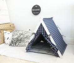 Teepee perfect gift for the dog by DogAndTeepee on Etsy