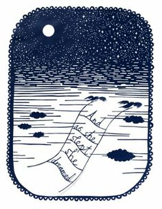 Rob Ryan - And As She Slept She Dreamed - Courtesy of TAG Fine Arts