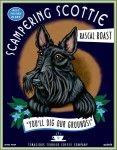Scottish Terrier – Black – Dog Art Print – Made in USA – Scampering Scottie Best Friend Blend