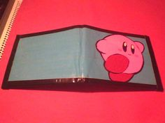 Kirby Duct tape Wallet. $14.00, via Etsy.