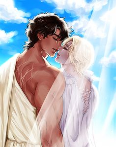 Damen & Laurent in the summer Palace of Akielos - So romantic!!! - Captive Prince