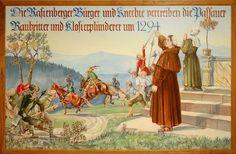 Wandbild im Rathaus , Rastenberg