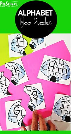 Brrr. Winter is here and January is cold! But the snow and winter makes for fun winter themes in preschool! These super cute, free printable alphabet puzzles have a fun igloo theme for kids to work on matching upper and lowercase letters this chilly season. Preschool kids will love these winter themed alphabet puzzles! Looking for a fun way to reinforce and practice alphabet lower and uppercase matching skills? These puzzle cards will have kids identifying the letters and finding their…