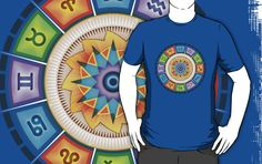 """Zodiac Reflections"" T-Shirts & Hoodies by Soul Structures 