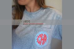 DIGITAL DOWNLOAD - a finished photo showing the vector graphics @ My Vinyl Designer used to create a trendy  shirt that identifies a business or family logo (https://www.myvinyldesigner.com/Products/lc002.aspx) #vinyl emblem