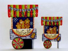 Ginger Street Cafe Item DA253 Gingerbread Fridge by ByBrendasHand Design Credit: Deb Antonick