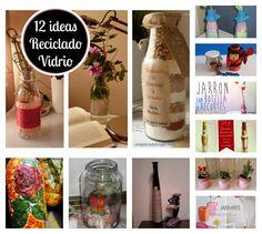 12 estupendas ideas para reciclar el vidrio: ¡Botellas y botes!
