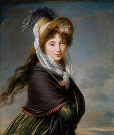 57a0bd5ca1b Portrait of a young woman circa 1797 by Louise Élisabeth Vigée Le Brun  ~1755–