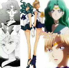 Uranus&Neptune: manga, anime'90 , Crystal 2016
