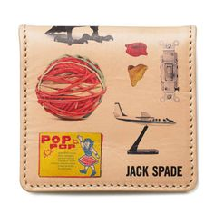 jack spade. i love using a man's wallet.