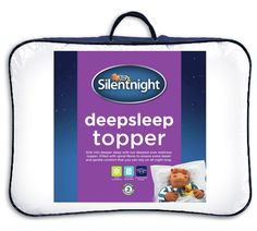 Buy Silentnight Deep Sleep Mattress Topper - Kingsize at Argos. Thousands of products for same day delivery £3.95, or fast store collection.
