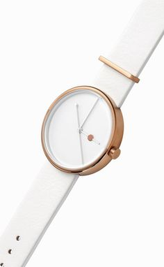 Eclipse Rose Gold Watch by Aark Collective | From Clockwize.uk