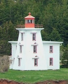 Blockhouse Point Light | Charlottetown Harbor, Prince Edward Island, Canada