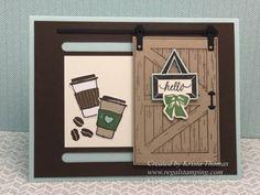 Barn Door Coffee Card