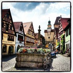 Rothenburg ob der Tauber...awesome walled city