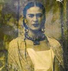 Foto de Frida Kahlo!